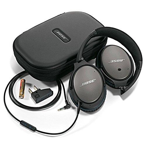 Bose QuietComfort 25 Acoustic Noise Cancelling Kopfhörer (geeignet für Apple-Geräte) schwarz - 4
