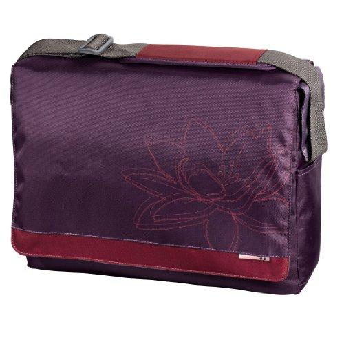 "Hama 00101361 15.6"" Messenger case notebook case - notebook cases (39.6 cm (15.6""), Messenger case, Polyester, 470 g, 385 x 40 x 280 mm) plant pflaume"