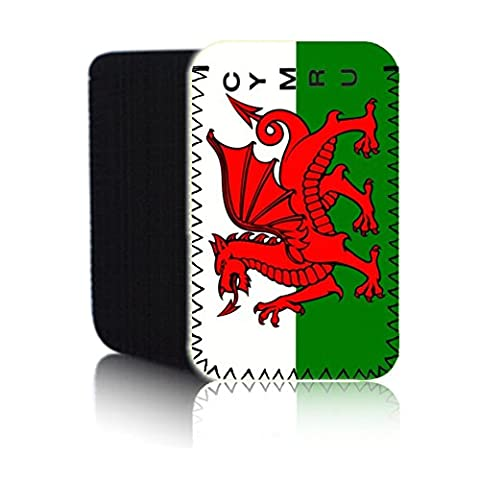 Biz-E-Bee Exclusive 'WELSH FLAG' (N2) Protective Neoprene Pouch for LG V20 - Shock & Water Resistant Cover, Case, Pouch, Slip - Fast Ship