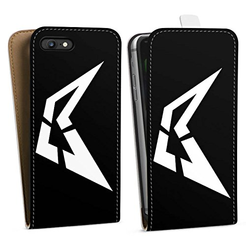 Apple iPhone X Silikon Hülle Case Schutzhülle Visca Barca Fanartikel Merchandise Beast Downflip Tasche weiß