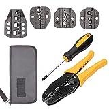 Crimpzange Crimpzangen Draht mit Carbon Stahl Support 0,1–6mm² verstellbar Crimpen Serie Komfort Grip Terminals Stecker Ratschenmechanismus