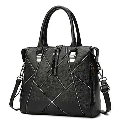 Millya, Borsa a mano donna, Black (Nero) - bb-01501-02C Black