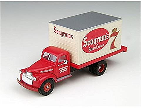 HO 1491-1946 Chevrolet Box Truck, Seagram's 7 by Classic Metal Works