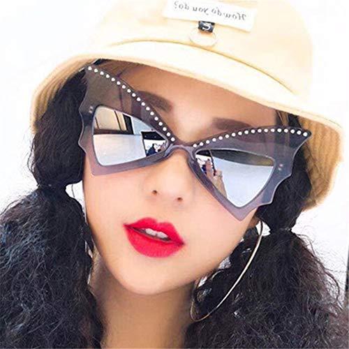 Summer Weibliche Katze Auge Sonnenbrille Koreanische Mode Sonnenbrille,B