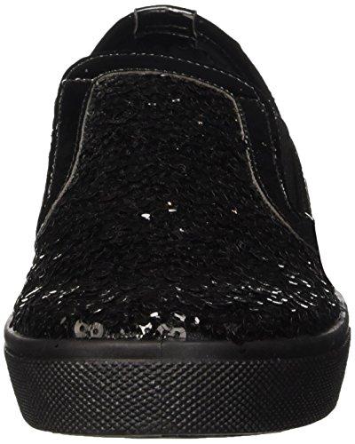 North Star 5396110, Pompes à Plateforme Plate Femme Noir (Nero)