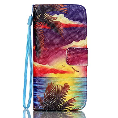Custodia per iPhone 6 Plus Rosa,TOCASO Farfalla Dandelion Flip Case PU Pelle [Wallet Book Design] per iPhone 6s Plus 5.5 Portafoglio Cover Ultra Sottile Leather Protettivo Cases Covers Shell [Lanyard/ Stylish#19