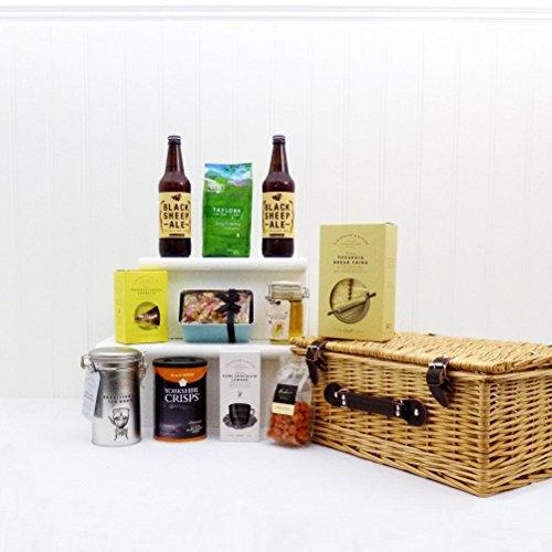 'The Yorkshire' Geschenkkorb Mit Black Sheep Ale Beer – Geschenkidee Zum Geburtstag, Jubiläum, Als Danke Schön
