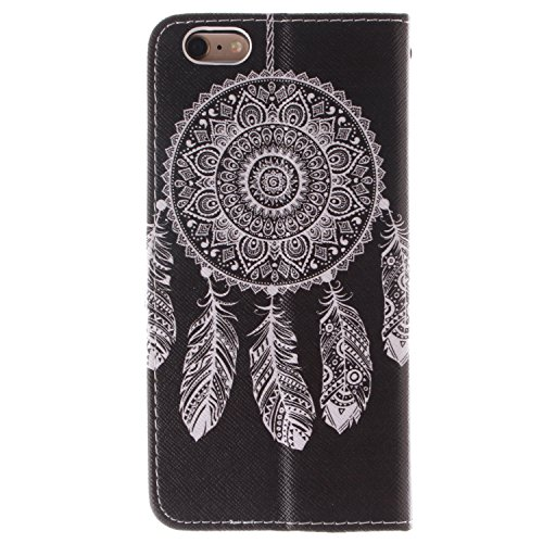 "MOONCASE iPhone 6 Plus Case Coque en Cuir Étui de protection à rabat pratique et chic Case pour iPhone 6 Plus (5.5"") -TX05 ST06"
