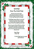 Accessory For Elf, Arrival, Welcome Letter Christmas Gift