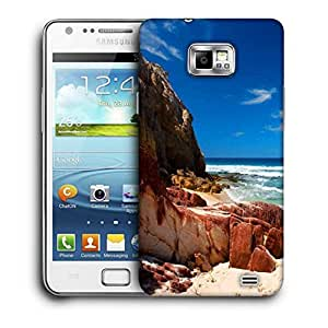 Snoogg Hot Sunny Beach Printed Protective Phone Back Case Cover For Samsung Galaxy S2 / S II