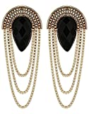 #9: Youbella Jewellery Summer Special Gold Plated Dangle & Drop Earrings For Women