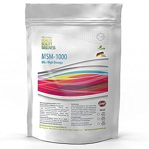 MSM Tabletten (500 vegane Tabletten a 1000mg ) Ultra Hochdosiert | Big Pack XL | Methylsulfonylmethan 99,9% Rein | Pharmaqualität hergestellt in Deutschand nach ISO und GMP-Standard produziert | Preishammer