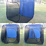 'Amaze' Folding Light weight Portable Outdoor Camping Picnic Garden Farm house Mosquito Insect Net Screen Tent with Carry Bag - Multicolor