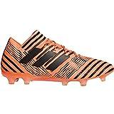 adidas Nemeziz 17.1 Fg, Botas de Fútbol para Hombre, Naranja (Narsol/Negbas/Rojsol), 44 EU