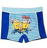 alles-meine.de GmbH Badehose / Badeshorts -  Minion - Ich einfach unverbesserlich  - Größe 6 bis 7 Jahre - Gr. 122 bis 128 - für Jungen Kinder Badepants - Boxershorts Shorts mi..