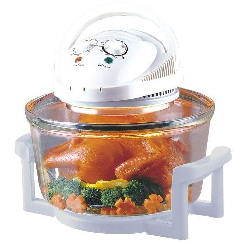 Sentik-12-Litre-Premium-1300W-Halogen-Oven-Cooker-FREE-High-Rack-Low-Rack-Tongs