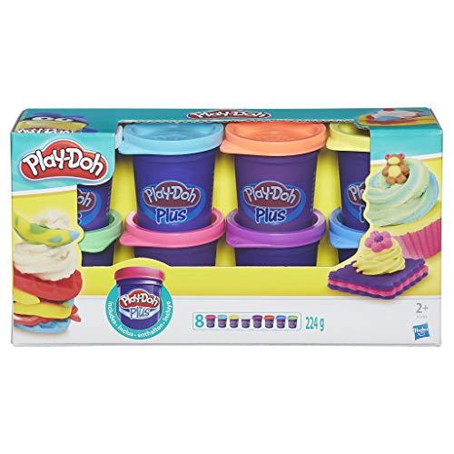 Play-Doh - Kitchen Creations, confezione da 8 vasetti Play-Doh Plus