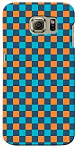 KnapCase Patterned Designer 3D Printed Case Cover For Samsung Galaxy S6