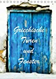 Griechische Türen und Fenster / CH-Version (Tischkalender 2019 DIN A5 hoch): Fotografiert in Korfu und Kreta (Monatskalender, 14 Seiten ) (CALVENDO Orte)