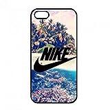 NIKE Housse accessoires, Luxury Nike Étui pour téléphone portable Apple iPhone 5(S)/iPhone se, Logo Nike Coque de protection rigide, Nike Just Do It Housse accessoires