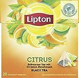 Lipton Schwarzer Tee Zitrone Pyramidenbeutel 20 Stück