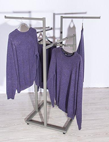 2x Kreuzständer Textilständer Verkaufsständer Ladeneinrichtung Kleiderständer