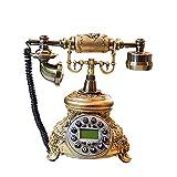 Telefon Antikes europäisches Pastorales Retro- europäisches Retro- Kunstfertigkeit örtlich festgelegtes Festnetztelefon