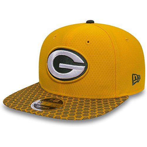 Packers - 9fifty Snapback - Nfl 17 Onfield - Yellow - S-M (6 3/8 - 7 1/4) ()