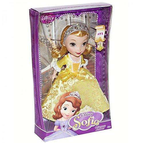 isney Sofia Puppe Prinzessin Amber Kleid Ankleidepuppe Modepuppe, Modell / Charakter:Princess Amber (Sofia Halskette)