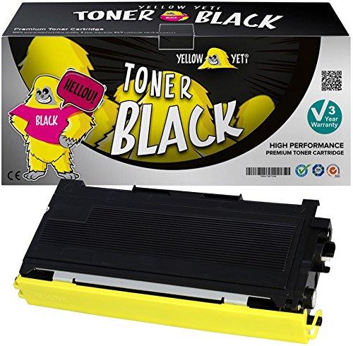Yellow Yeti TN2000 (2500 pagine) Toner compatibile per Brother HL-2030 HL-2032 HL-2040 HL-2050 HL-2070 HL-2070N DCP-7010 DCP-7020 DCP-7025 FAX-2820 FAX-2920 MFC-7420 MFC-7820 [3 Anni di Garanzia]