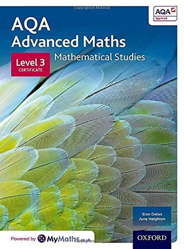 AQA Mathematical Studies Student Book: Level 3 Certificate by Stan Dolan (2016-02-18)