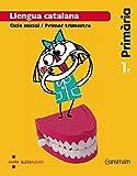 Llengua catalana. 1 Primària. Construïm. Illes Balears. Trimestres  - Pack de 3 libros - 9788466135016