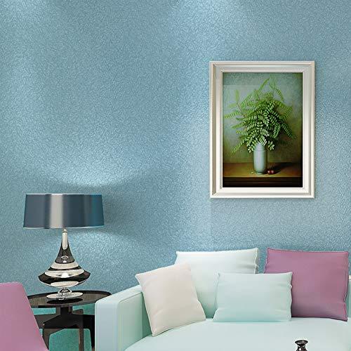 Kinderzimmer Tapete, einfache einfache mediterrane TV-Hintergrund Wandaufkleber, einfarbig Wohnzimmer Schlafzimmer Kinderzimmer Tapete, c