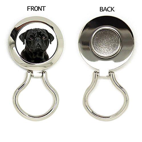 MOPS schwarz Hund Geschenk. Siehe anderen Rassen auch erhältlich auf Amazon (T-shirt Ort, Beste)