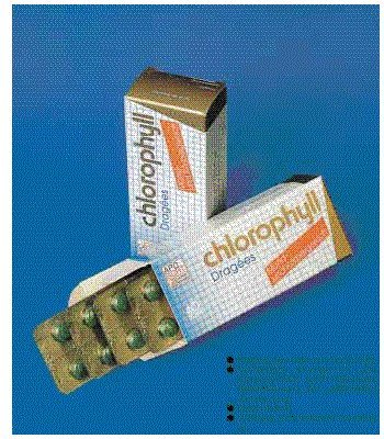 Chlorophyll Dragees 40 Stück (40 ST)