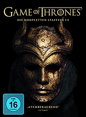 Game of Thrones Staffel 1-5 (Digipack + Fotobuch + Bonusdisc) (exklusiv bei Amazon.de) [Limited Edition] [26 (Game Of Thrones Dvd 1-6)