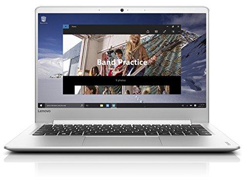 Lenovo ideapad 710S 33,78 cm (13,3 Full HD IPS Matt) Slim Multimedia Notebook (Intel Core i7-6560U, 3,2GHz, 8GB RAM, 512 GB SSD, Inte Iris Grafik 540, Windows 10 Home) silber