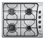 Candy PL40ASX Gas Hob Stainless Steel