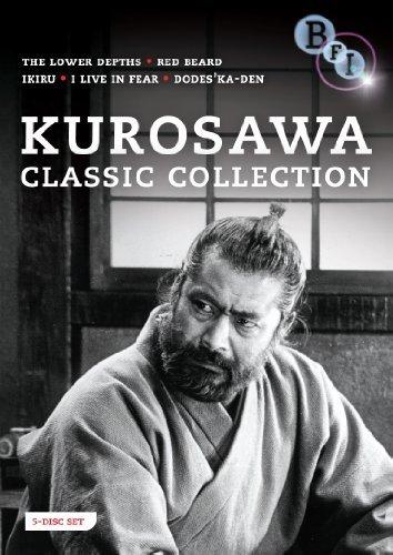 Kurosawa Classic Collection - 5-DVD Box Set ( Ikiru / Ikimono no kiroku / Donzoko / Akahige / Dodes'ka-den ) ( Living / I Live in Fear / The Lowe [ NON-USA FORMAT, PAL, Reg.2 Import - United Kingdom ] by Takashi Shimura