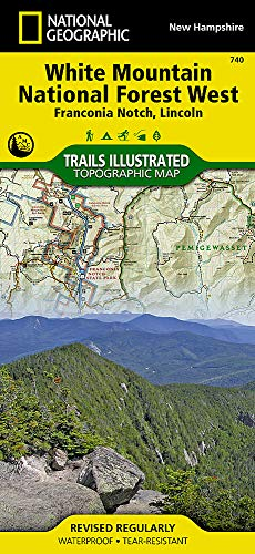 Franconia Notch / Northern Lincoln: National Geographic Trails Illustrated USA Nordosten (National Geographic Trails Illustrated Map, Band 740)