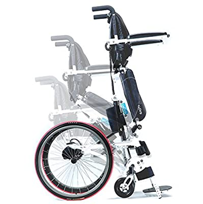 Pegasus II Lightest Standing Semi Powered Wheelchair Mobility One Finger or Hand Stand-up One Function Wheel Chair 2 Year Warranty
