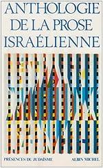 Anthologie de la prose israélienne de Mireille Hadas-Lebel