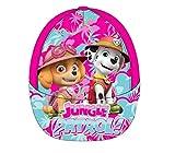 5130 Kinder Cap Baseball Cap Kappe Basecap PAW PATROL SKYE EVEREST f. Mädchen (pink, 52cm)