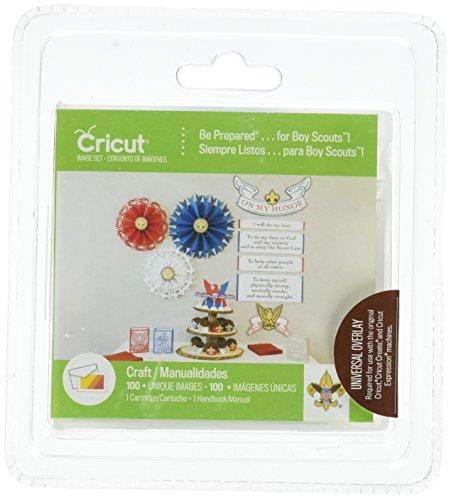 Provo Craft-Cartuccia Cricut Shape essere Prepared..For Boy Scouts
