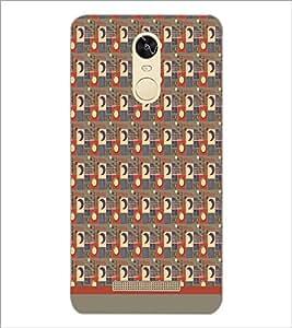 PrintDhaba Sun Moon Pattern D-1495 Back Case Cover for XIAOMI REDMI NOTE 3 MEDIATEK (Multi-Coloured)