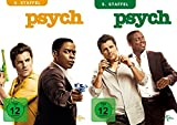 Psych Staffel 4+5 (8 DVDs)