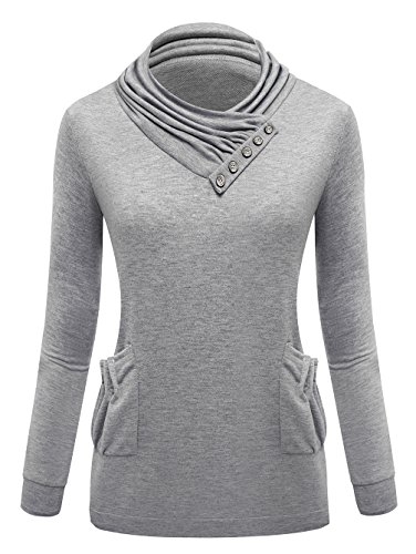 Blooming Jelly - Sweat-shirt - Femme Gris