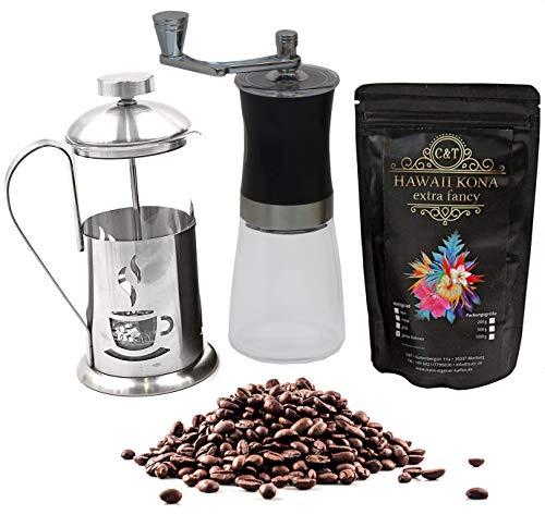 Kaffee Geschenk-Set mit 100 g edlem Raritäten-Kaffee