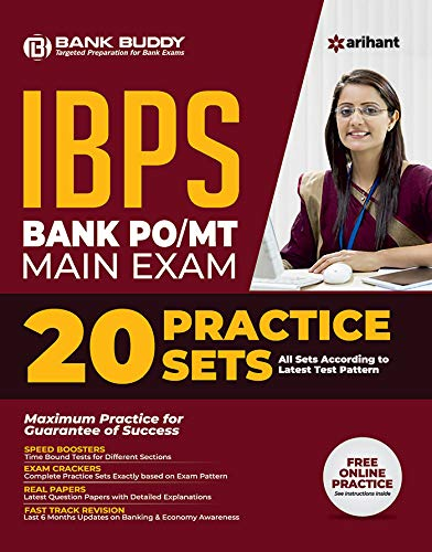 20 Practice Sets IBPS Bank PO/MT Main Exam 2019
