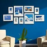 PHOTOZXM GRJH® Foto Wand, Dekorative Gemälde Kombination Hängende Bilder Moderne Einfache Sofa Hintergrund Wand Kreativer Europäer